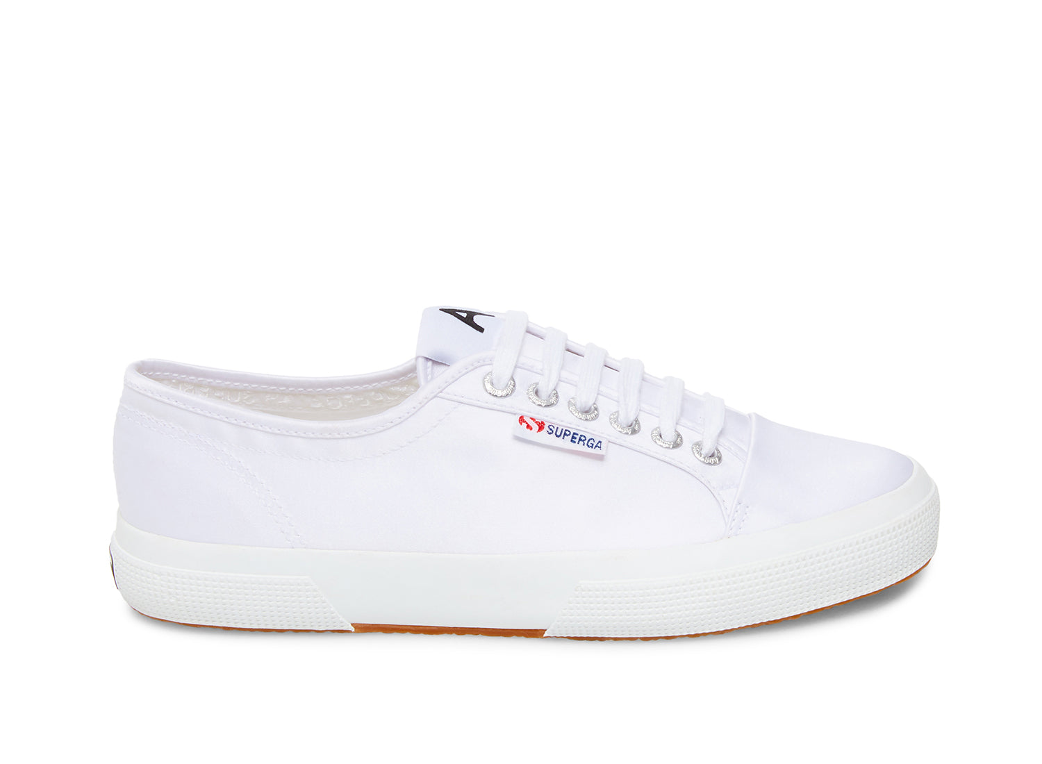 Superga 2492 satinw white side