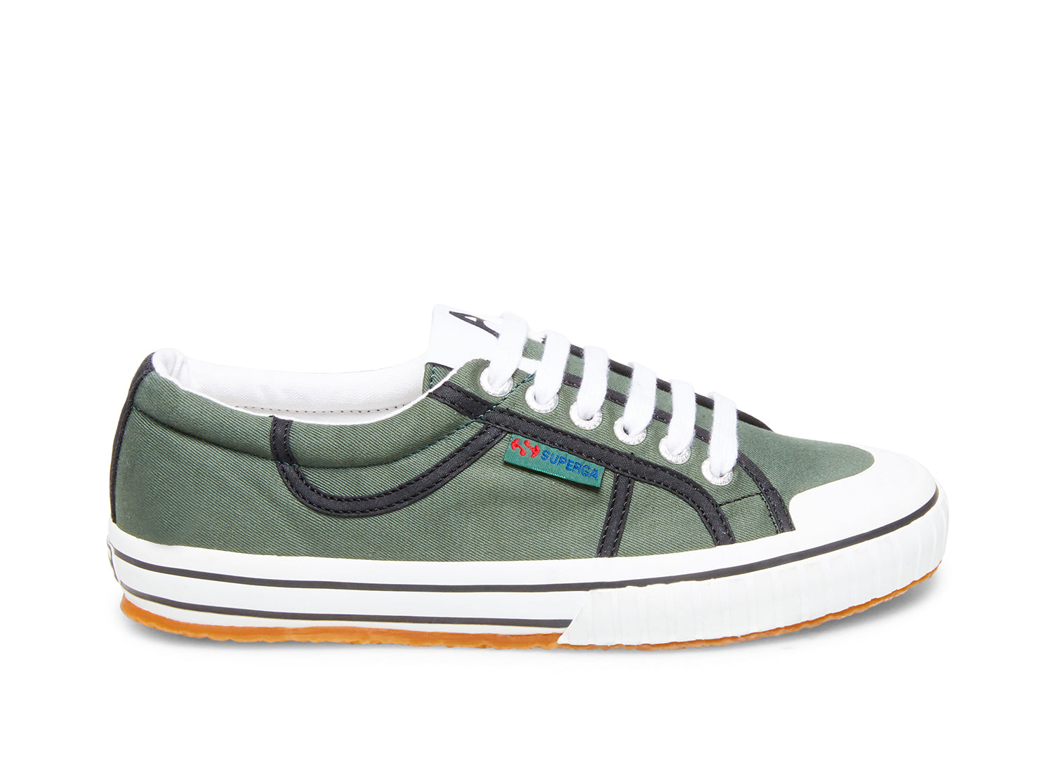Superga 2506 cotw green moss side