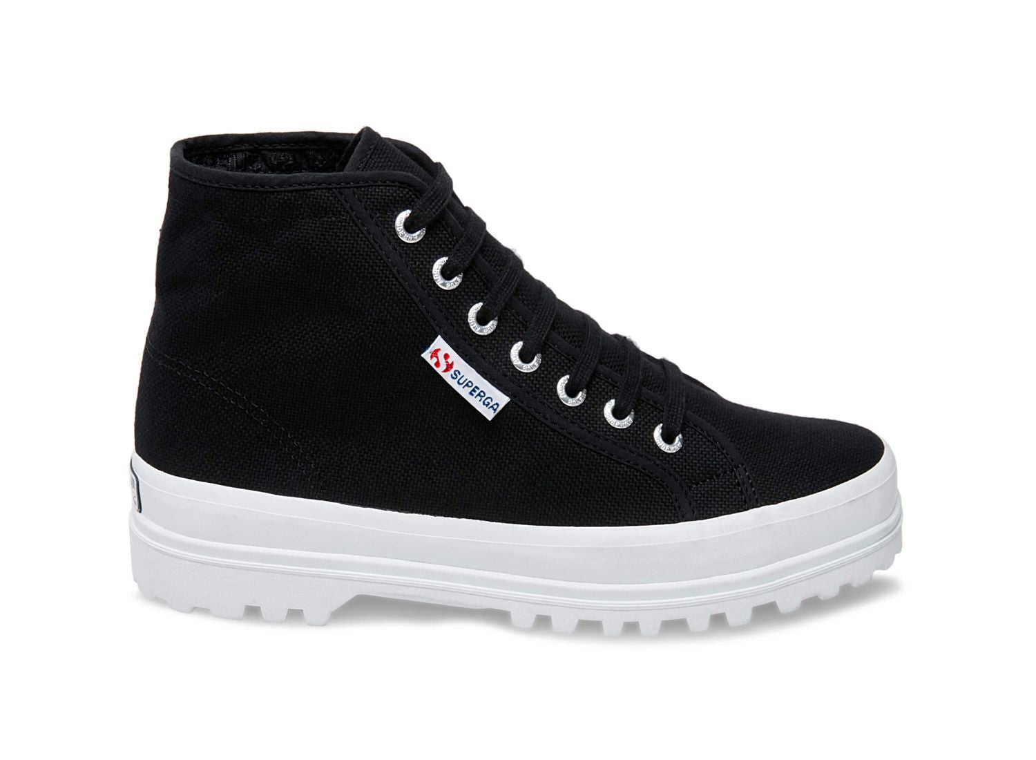 Superga 2553 cotu black side