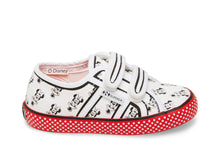2750 ALLOVERSTRAPCOTJ RED WHITE - Kids