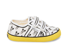 2750 ALLOVERSTRAPCOTJ WHITE-YELLOW - Kids
