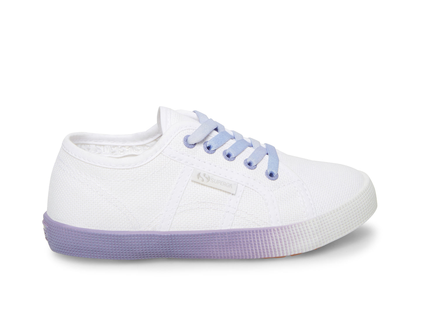 2750 COTBUMPERGRADIENTJ WHITE-LAVENDER - Kids