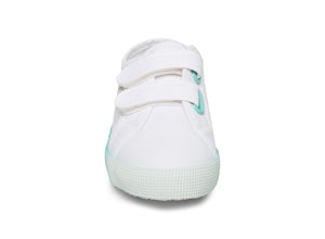 2750 COTBUMPERSTRAPGRADIENTJ WHITE BABY BLUE