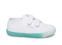 2750 COTBUMPERSTRAPGRADIENTJ WHITE BABY BLUE - Kids