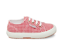 2750 COTGINGHAMJ RED GINGHAM - Kids
