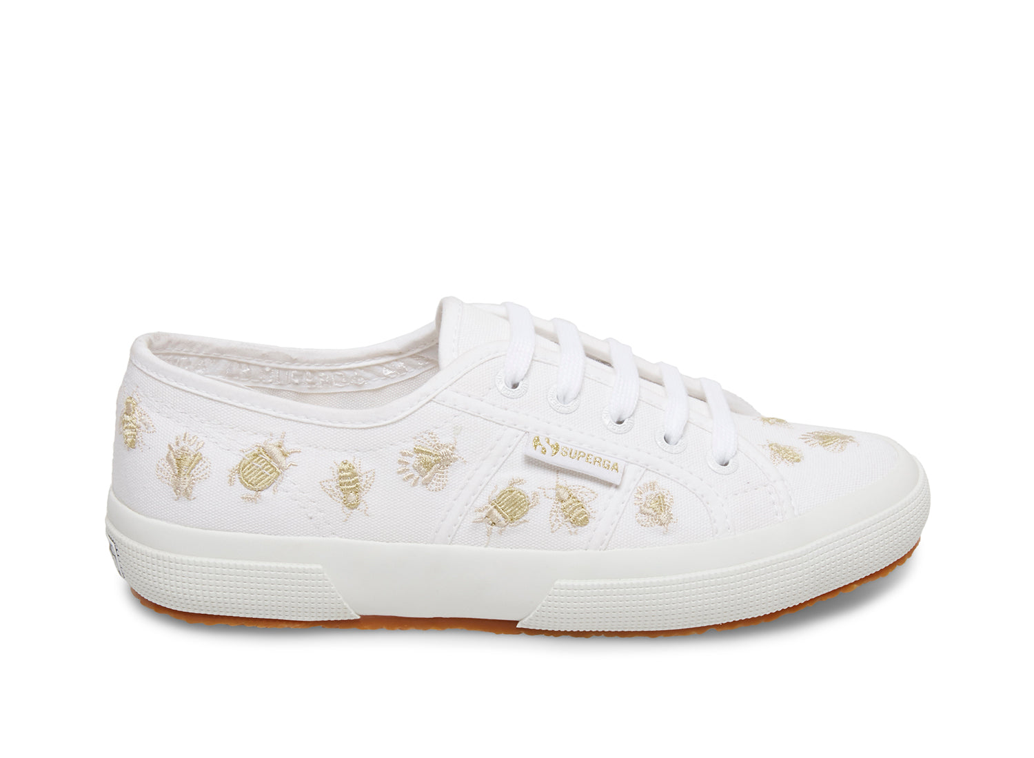 2750 INSECTEMBROIDERYCOTW WHITE