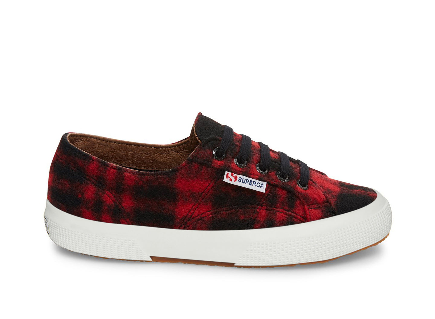 2750-SHEPHERDWOOLU RED-BLACK - Women's