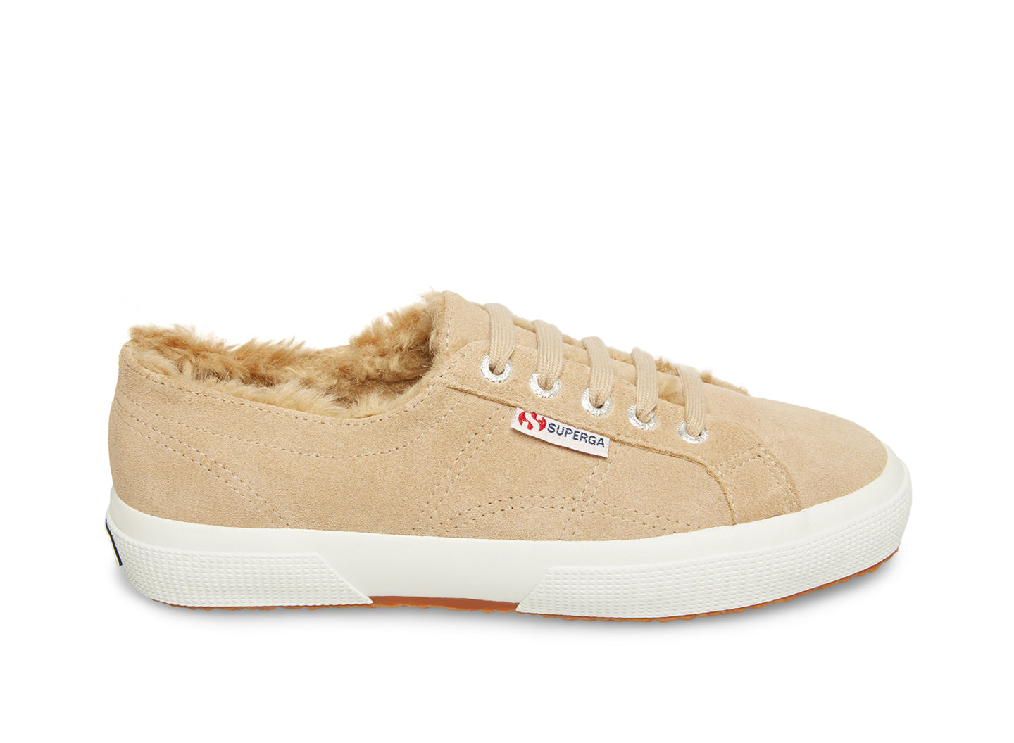 2750 SUEHAIRYFURW BEIGE SUEDE - Women's and Men's