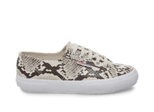 2750-SYNTH SNAKEW TAUPE SNAKE - Women's