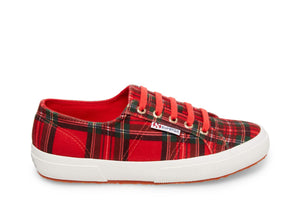 2750 TARTANVELW RED PLAID