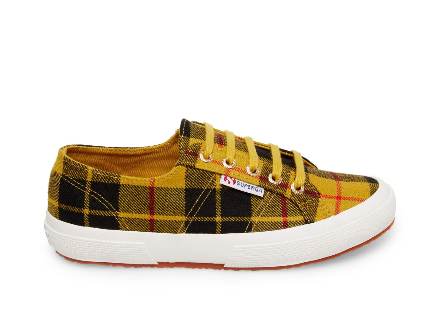 2750 TARTANW YELLOW PLAID -