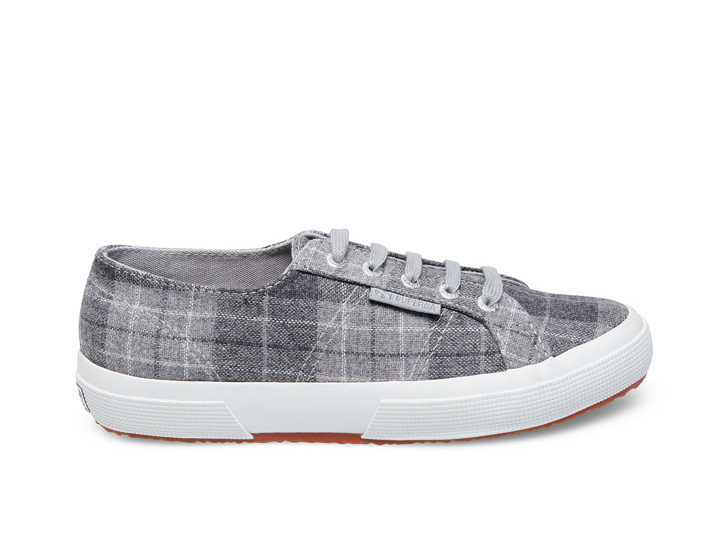 2750 WOOLPLAIDW LIGHT GREY - Women's