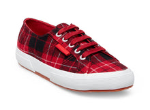 2750 WOOLPLAIDW RED MULTI - Women's