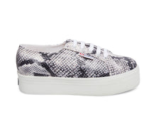 2790 PUFANW BLACK WHITE SNAKE - Women's