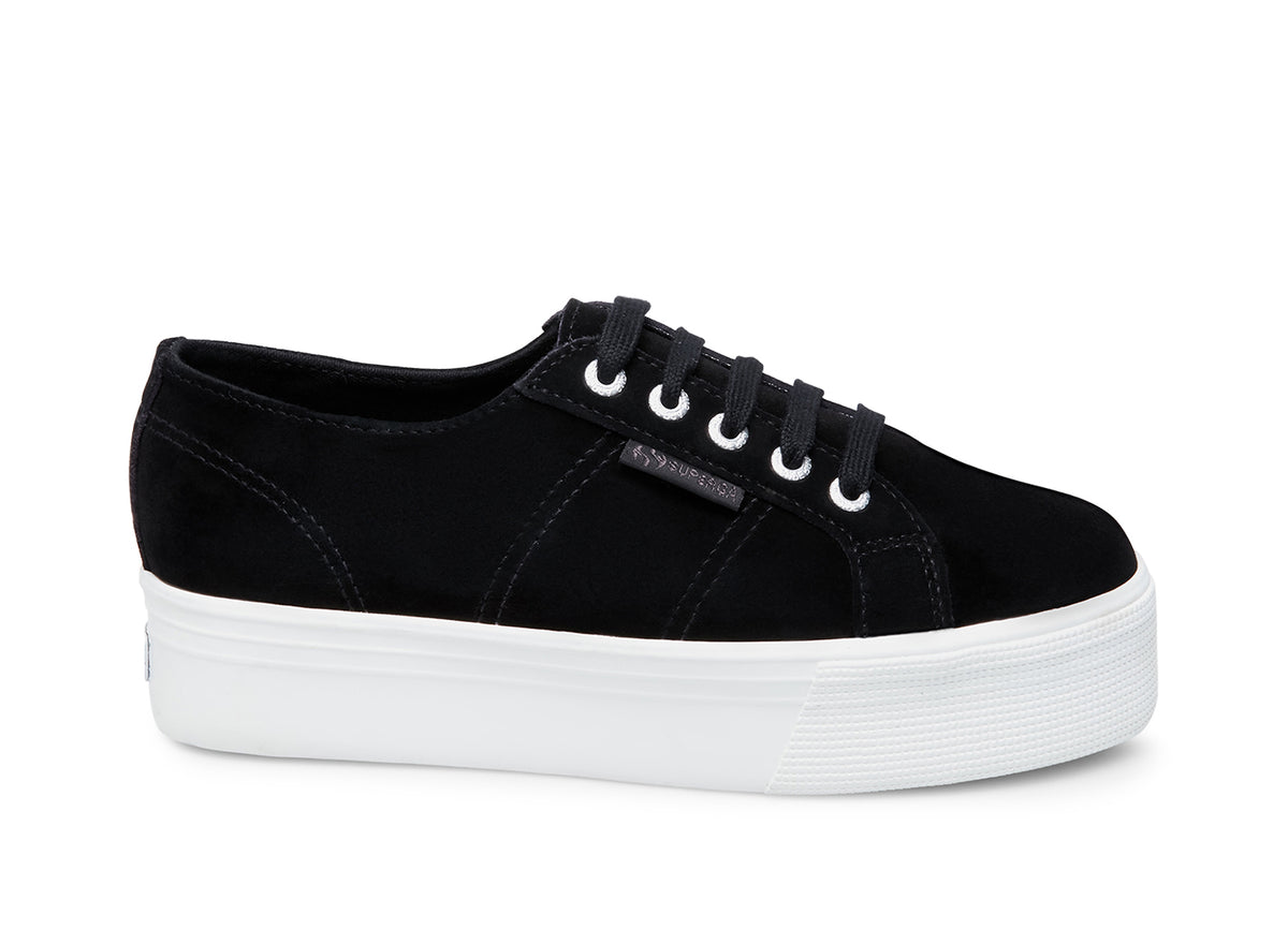 2790 Suecotlinw Black by Superga