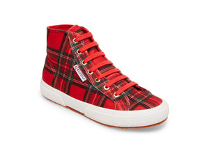 2795 TARTANVELW RED PLAID