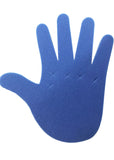 Blue Adjustable Foam Hand