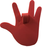 Red Adjustable Foam Hand