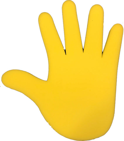 Yellow Adjustable Foam Hand
