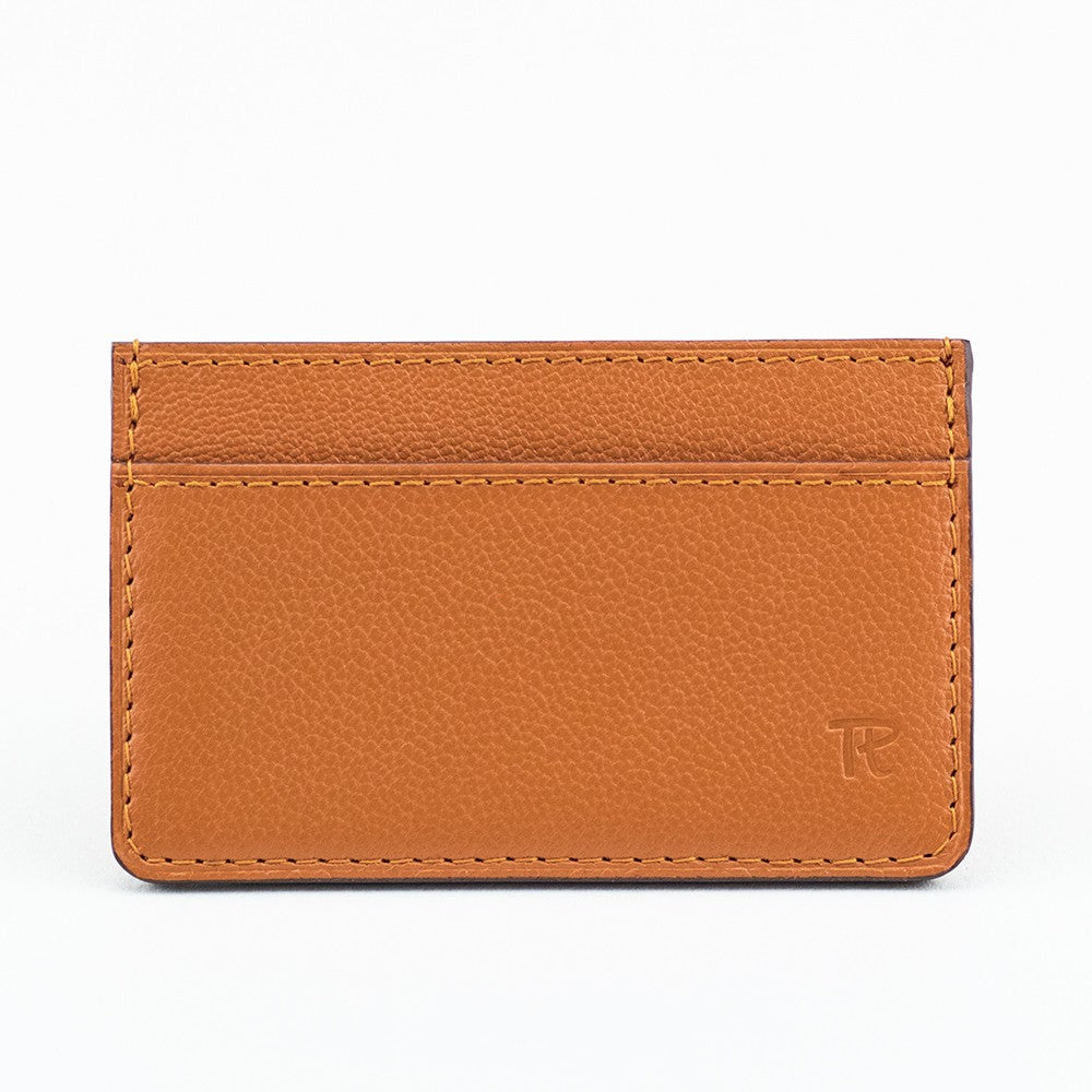 Porte-cartes Volage - Chèvre Orange