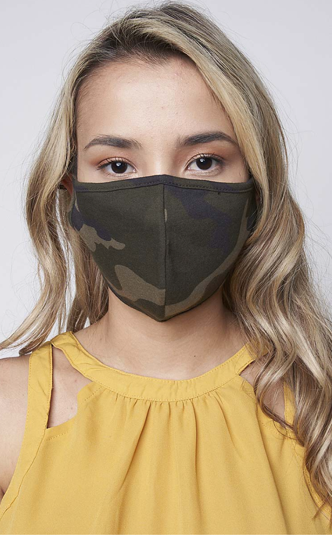 Reusable Camo Mask