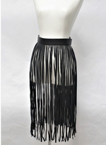 Long Fringe Skirt Belt - B. Royal Boutique