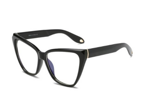 Cat-eye blue- light blocking glasses