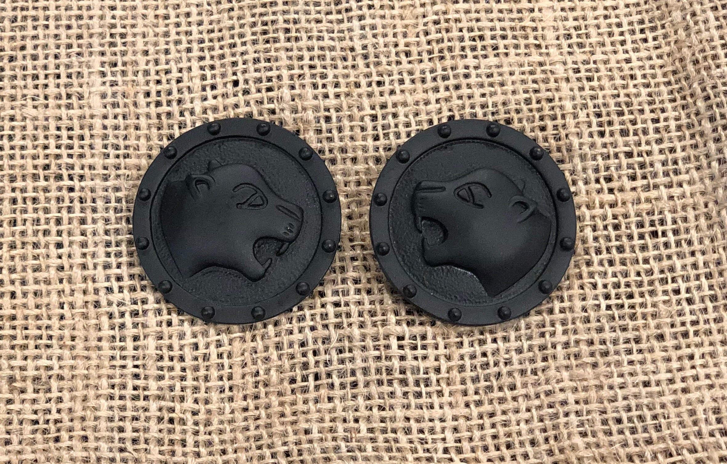 Black Panther Earring - B. Royal Boutique