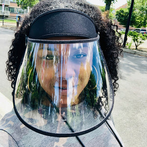 Chic Face Guard Visor