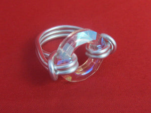 Circle of love ring. - size 8