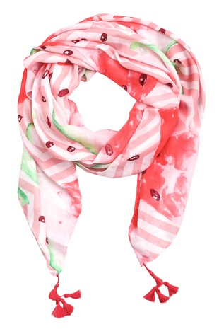 Watermelon Oblong Scarf