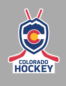 Colorado Hockey Magnet