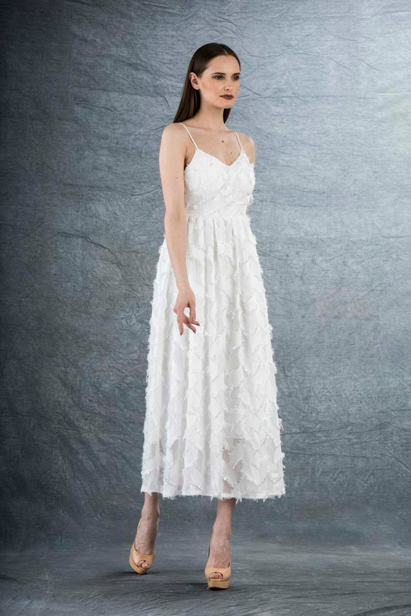 Sienna Maxi Dress White