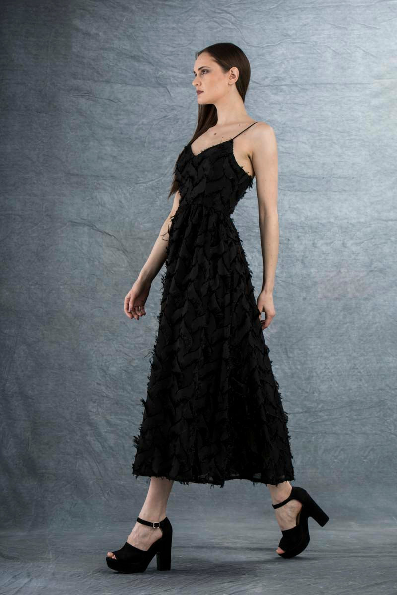 Sienna Maxi Dress Black