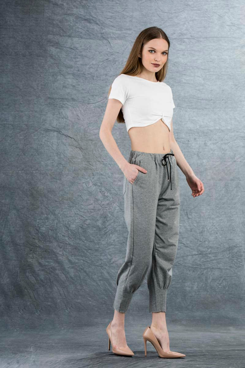 Phillipe Crop Top White