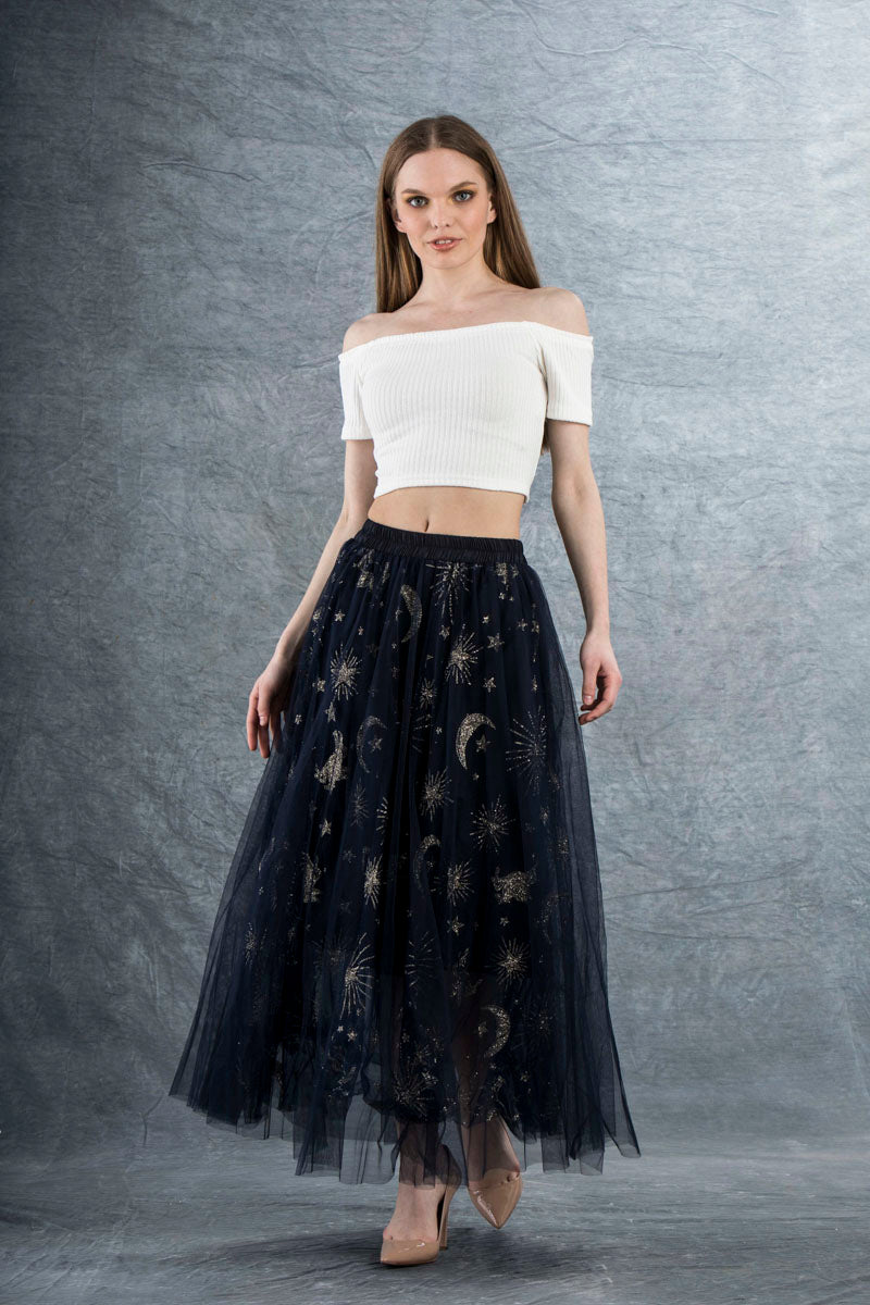 Nelly Lace Up Off Shoulder Crop Top