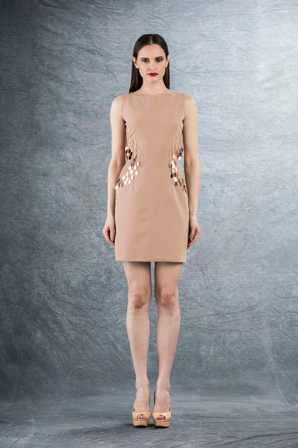 MANHATTAN CUT OUT MINI DRESS