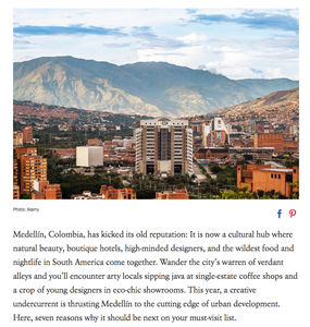 21 Reasons the Cool Kids of Colombia Flock to Medellín por VOGUE