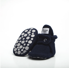 BOTAS BEBE FLEECE GRIPPER AZUL