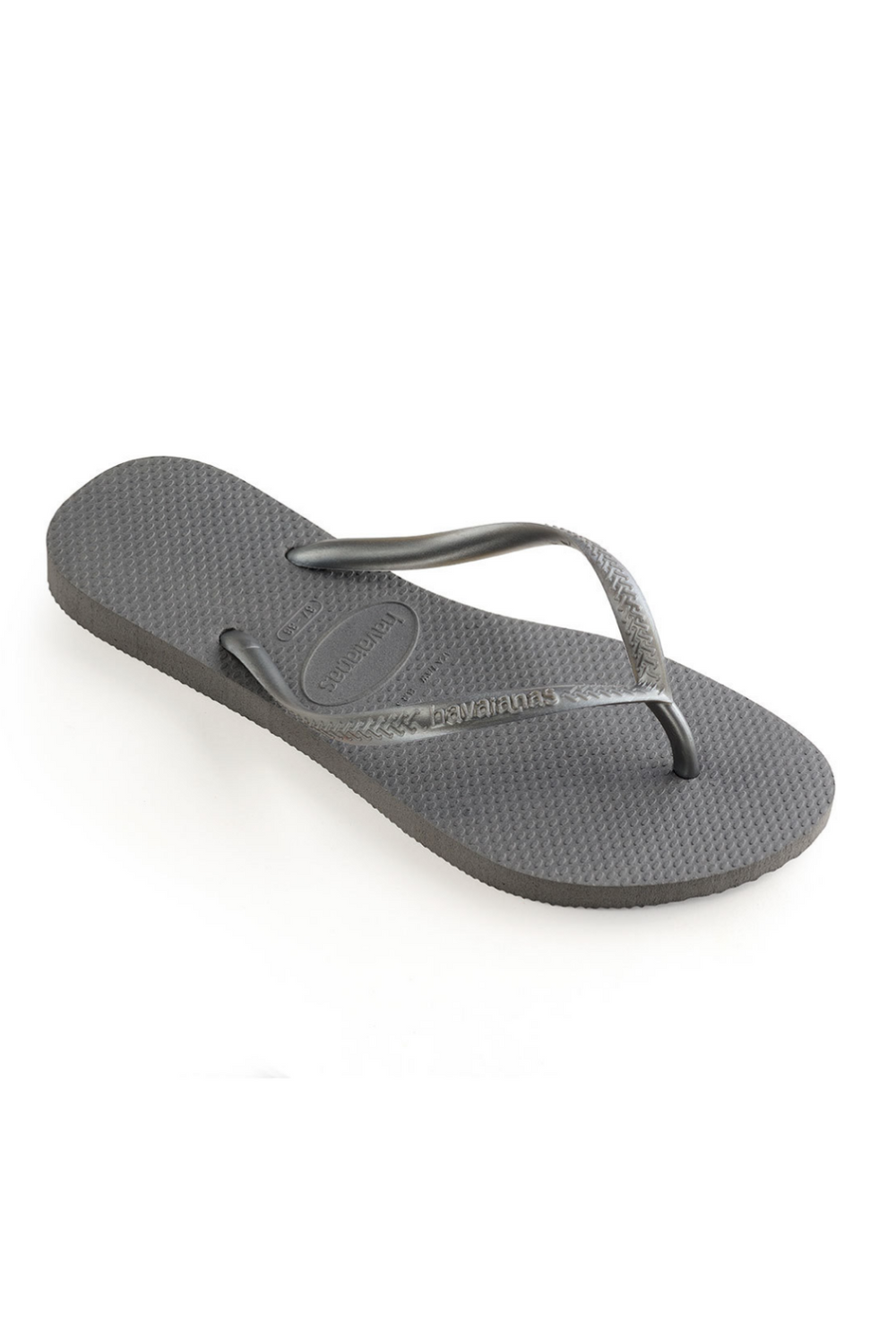 The Slim Flip Flop - Steel Grey