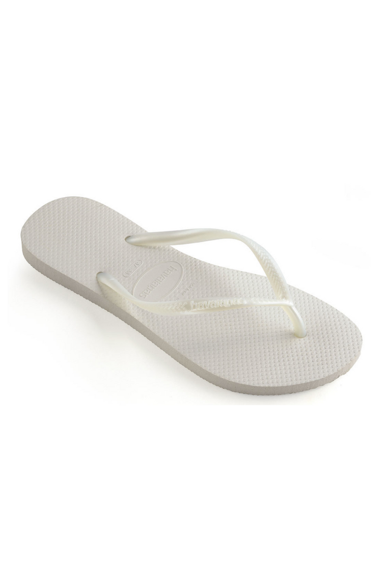The Slim Flip Flop - White