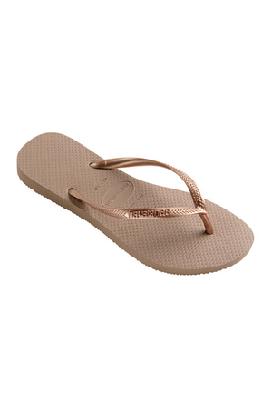 Load image into Gallery viewer, The Slim Flip Flop - Rose Gold