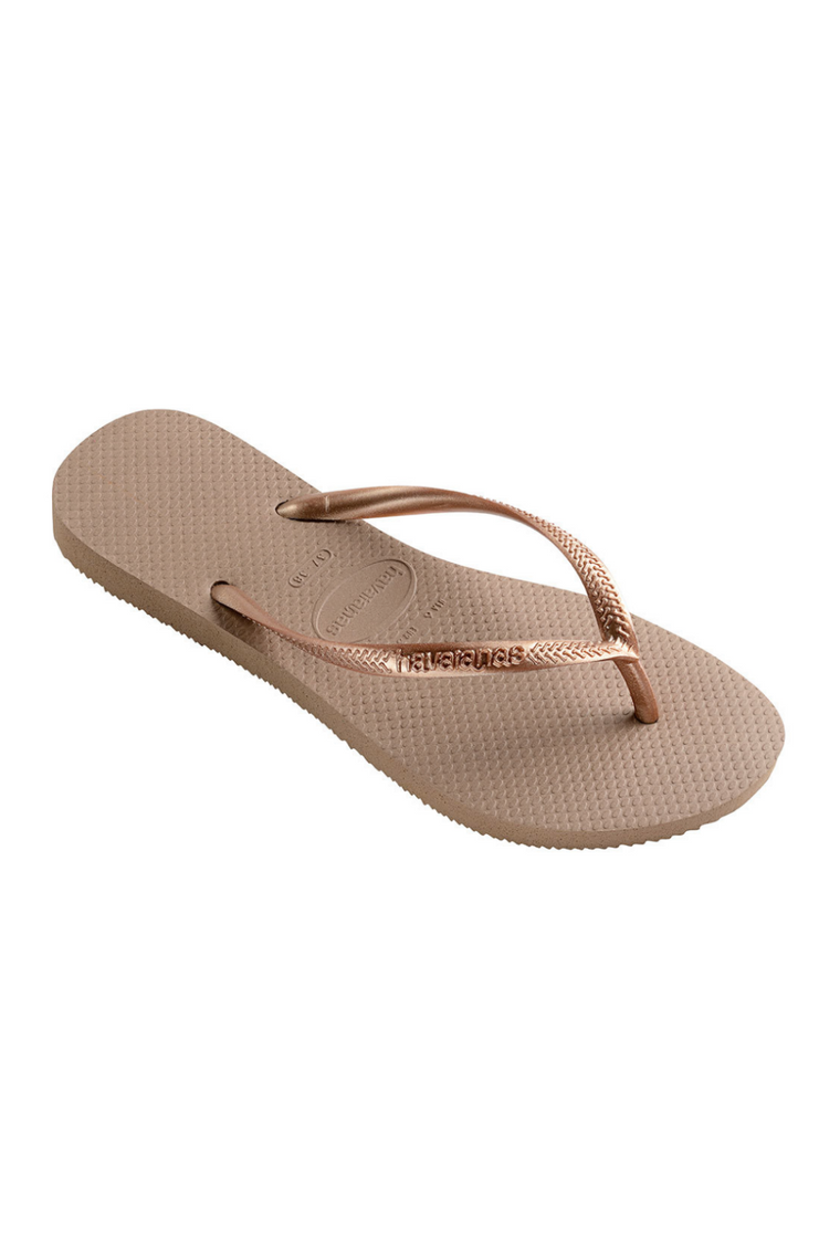 The Slim Flip Flop - Rose Gold