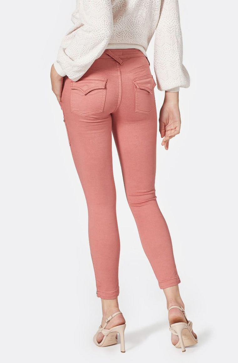 The Park Skinny Pants - Light Mahogany