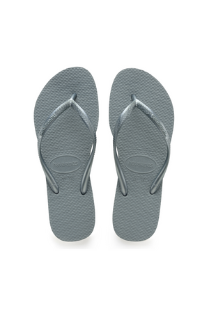 Load image into Gallery viewer, The Slim Flip Flop - Silver Blue