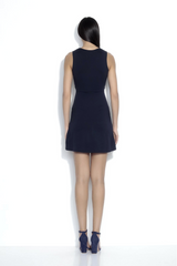 Bow Front Cutout Dress - Jaffi's