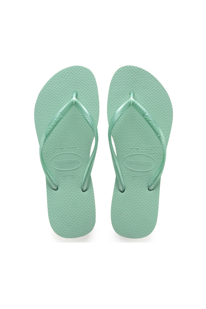 Load image into Gallery viewer, The Slim Flip Flop - Green Dew