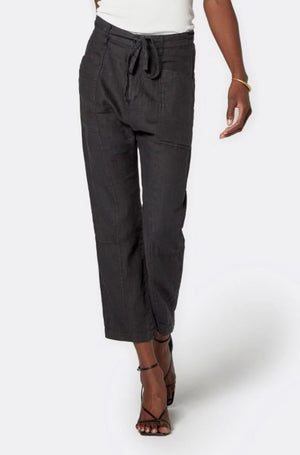 Load image into Gallery viewer, Abbott Cropped Linen Pant