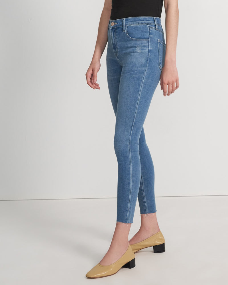 Load image into Gallery viewer, Alana High Rise Crop Skinny - Joy Destruct