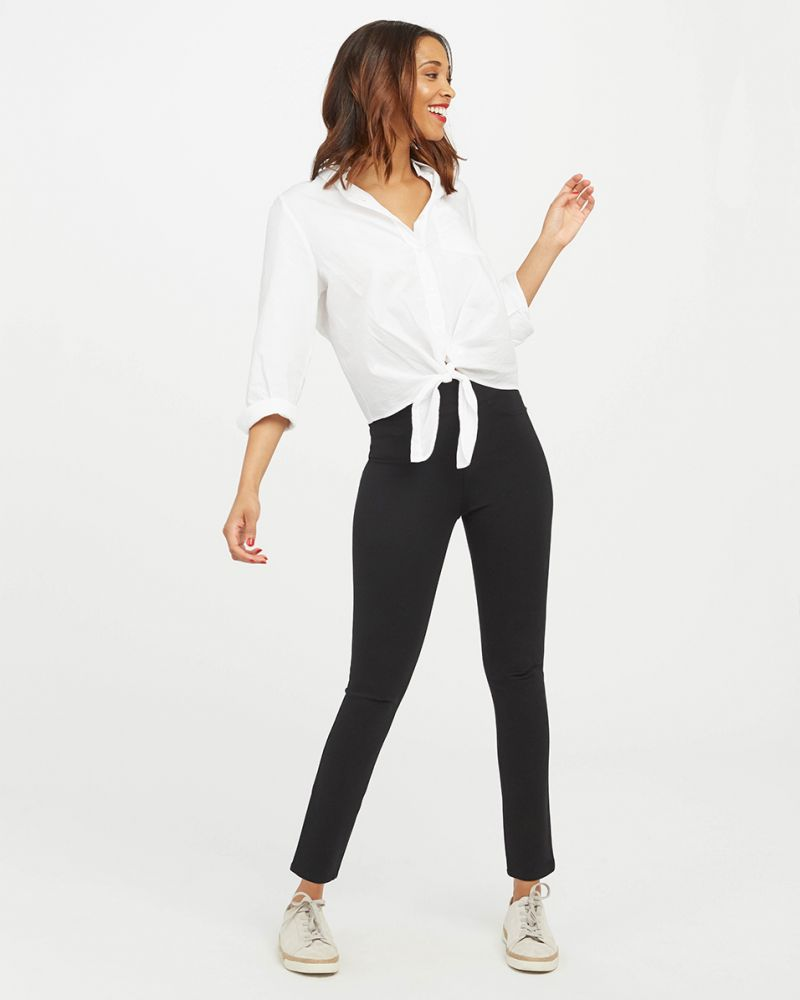 Load image into Gallery viewer, The Perfect Black Pant - 4 Pocket Ankle